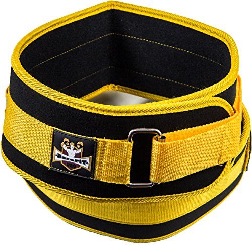 Weight Lifting Belt - Performance Low Profile Back Belt - For Fitness Heavy Weightlifting - Gym Workout - Men & Women