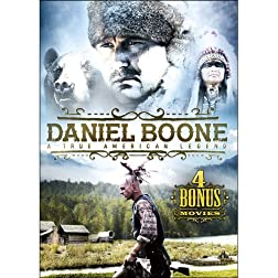Daniel Boone: A True American Legend Includes 4 Bonus Movies
