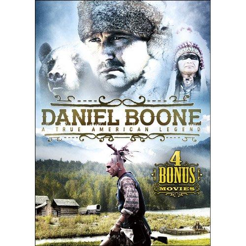 Daniel Boone: A True American Legend Includes 4 Bonus Movies