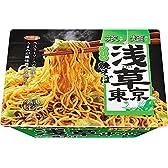 サッポロ一番 旅麺 浅草 ソース焼そば 116g×12個