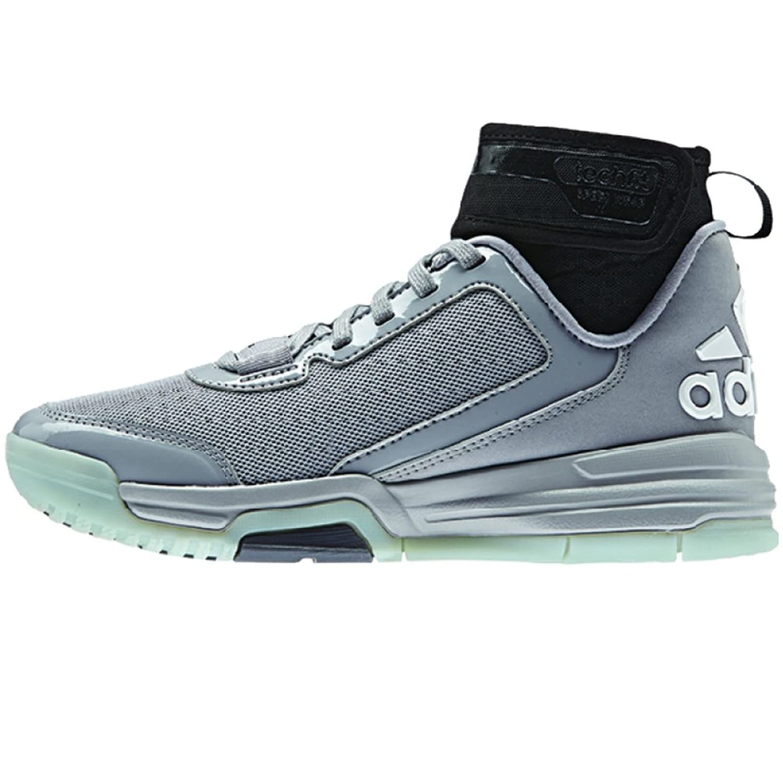 Adidas Uomini È Duplice Minaccia Bb Scarpe Da Basket Luce Onix / Nero / Bianco