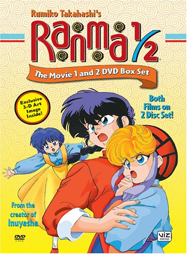 You can download for you Ranma 1/2: The Movie Box set Best