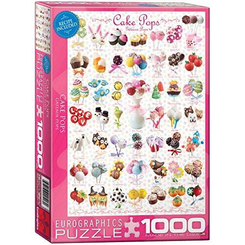 Cake Pops Puzzle, 1000-Piece