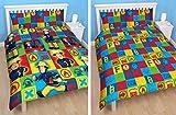 Fireman Sam Reversible Single Duvet Quilt Pillow Cover Boys Character Reversible Bedding Set Kids Official World Single Duvet Cover Set