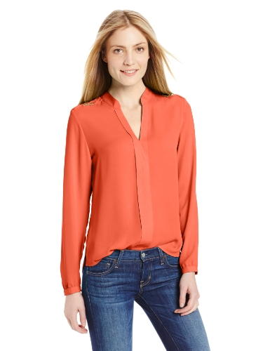 NY Collection Women's Solid Long Sleeve Pullover