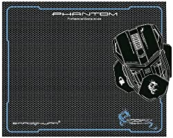 Dragonwar Phantom GP-002 Gaming Mouse Mat (Black)