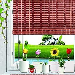 Natural Bamboo Roll Up Window Blind Sun Shade WB-SUN319 (W48\