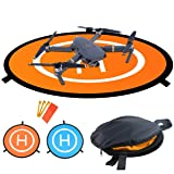 Drones Landing Pad,Recharlance Universal Waterproof D 75cm/30'' Portable Foldable Landing Pads For RC Drones Helicopter, PVB Drones, DJI Mavic Pro Phantom 2/3/4/ Pro, Antel Robotic, 3DR Solo & More