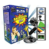 Zu3D Animation Kit for Windows PCs and Apple Mac OS X: complete stop motion animation kit