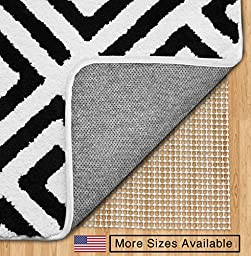 The Original Gorilla Grip (TM) Non-Slip Area Rug Pad, Made In USA, Available in 2x4, 2x8, 3x5, 4x6, 5x7, 5x8, 6x9, 8x10, 8x11, 9x12, 10x14, 12x15, Rounds and Squares, Extra Cushion, 10 Year Guarantee (5x8)