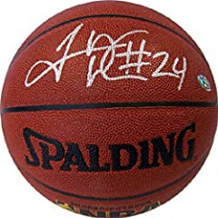 Tyrus Thomas Autographed Signed Indoor-Outdoor Chicago Bulls Basketball