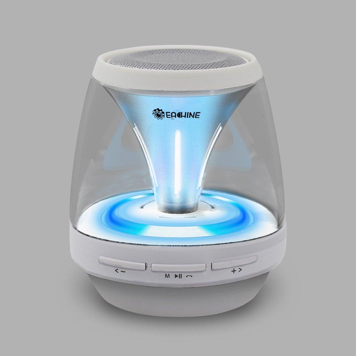 Eachine Bluetooth Speakers, Vivid Jar Portable Wireless LED Lights FM Radio полка дл обуви мастер лана 3п пол 3п дуб сонома мст пол 3п дс 16