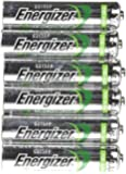 Energizer AAA Rechargeable NiMH Battery 700 mAh 1.2V x six (6)Batteries