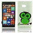 Nokia Lumia 929 930 Silikon S��E EULE Design Schutz Smartphone Handy H�lle Case Tasche Etui Bumper thematys�