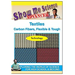 Textiles Carbon Fibers, Flexible & Tough