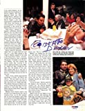 Roberto Duran Autographed/Hand Signed Magazine Page Photo PSA/DNA #S48918