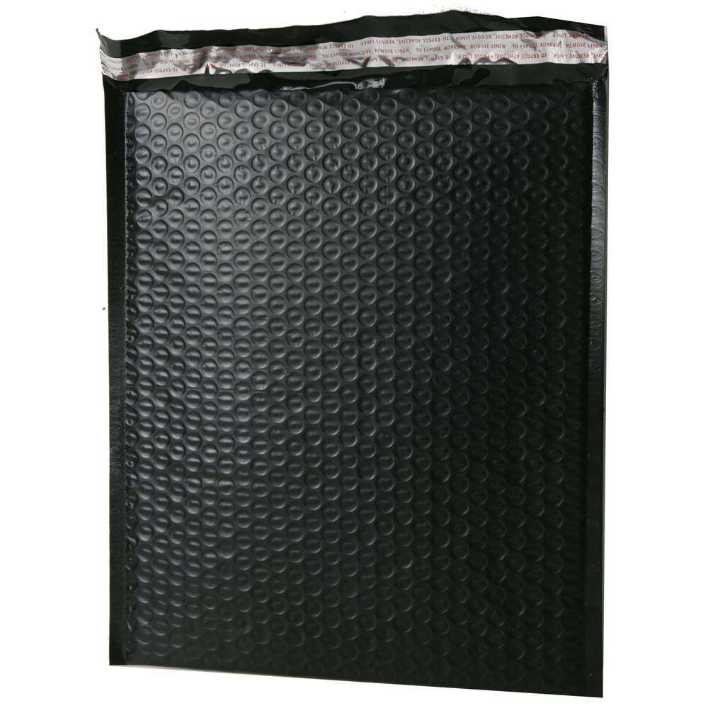 Black Bubble Mailers Bubble Padded Mailers Open