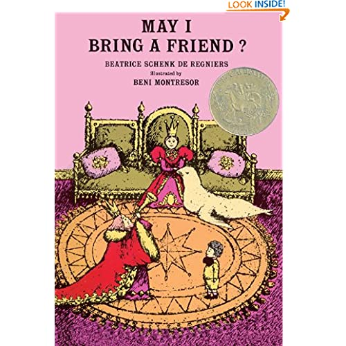 May I Bring A Friend? (Turtleback School & Library Binding Edition)