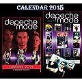 Depeche Mode Calendrier 2015 + depeche mode aimant de r�frig�rateur