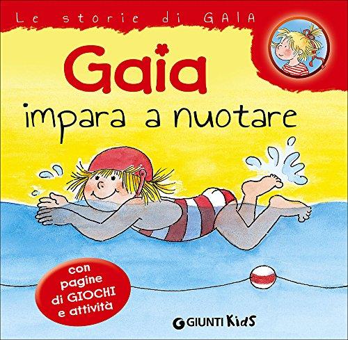 Gaia impara a nuotare