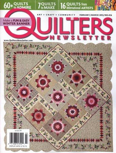 Quilter's Newsletter Magazine (1-year auto-renewal)