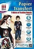 Papier Transfert pour Textiles de Couleur