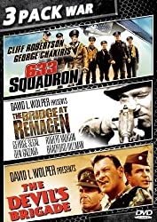 633 Squadron / The Bridge at Remagen / The Devil's Brigade (DVD)