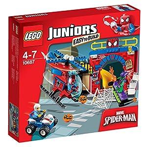 LEGO 10687 Juniors Spider-Man Hideout