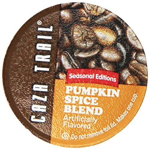 Caza Trail Coffee, Pumpkin Spice Blend, 24 Single Serve Cups
