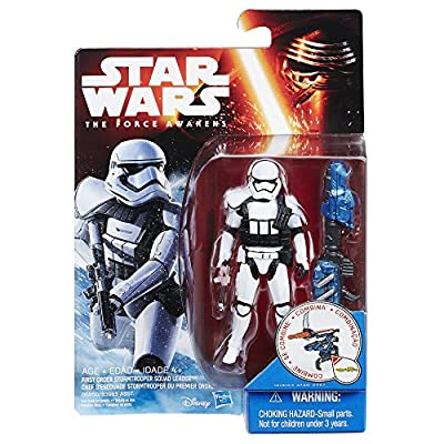 Star Wars Villian Troop Squad Leader White Action Figure by Hasbro