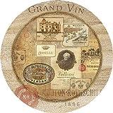 Thirstystone Nostalgic Wine Labels Coasters