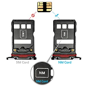 NM Card 128GB 90MB/S Nano Memory Card Mirco SD Card Compact Flash Card, only Suitable for Huawei P30\P30pro and Mate20 Series NM 128GB Card