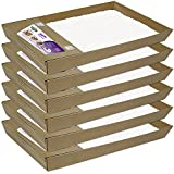 Petsafe ScoopFree Litter Tray with Dye-Free Crystals, 6-Pack