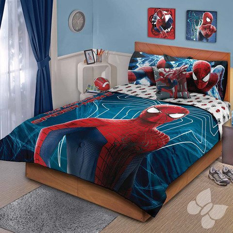 Spiderman Twin Comforter front-1079941