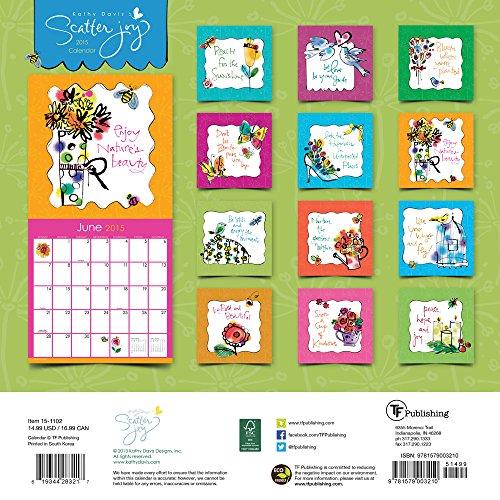 Scatter Joy 2015 Calendar