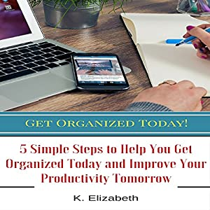 Get Organized Today! Audiobook