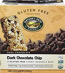 NATURES PATH BAR GRNLA GF DRK CCHIP, 6.2 OZ