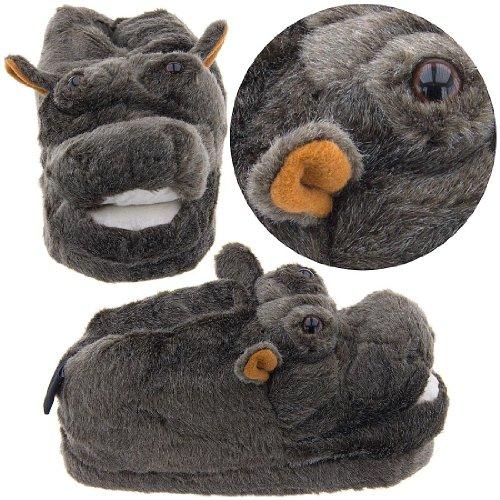 Cheap Hippo Animal Slippers for Women (B0044VB7WG)