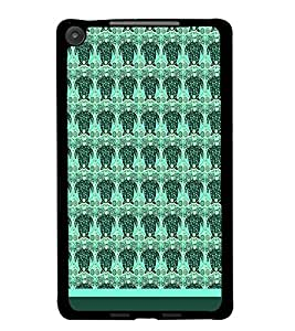 PrintDhaba Owl pattern D-1761 Back Case Cover for ASUS GOOGLE NEXUS 7 2013 (Multi-Coloured)
