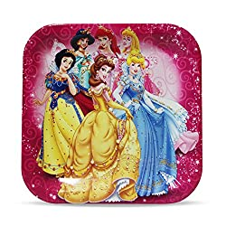 MBGiftsGalore Princess Square Plate