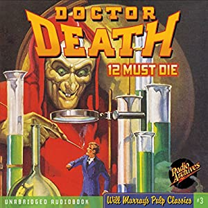 Doctor Death #1, February 1935 | [ Zorro,  RadioArchives.com]