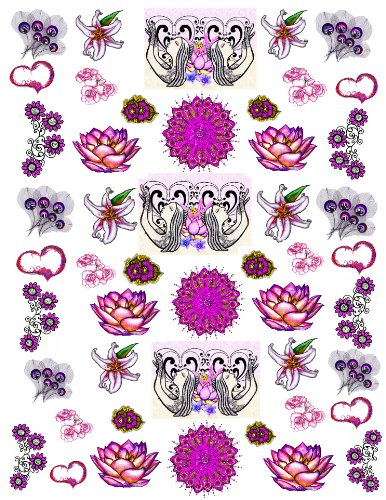 bajidoo-lotus-praise-decal-full-sheet