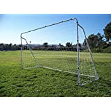 PASS Steel Soccer Goals w/ Quality Net. Portable Steel Frame. Training Aid. Team, Game, Practice and Tournament Approved MLS EPL FIFA