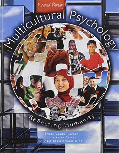 Multicultural Psychology: Reflecting Humanity
