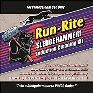 Sledgehammer Catalytic Converter Fuel System Rapid Induction Deposit Cleaner Remove P420 Code from Mac Auto Parts