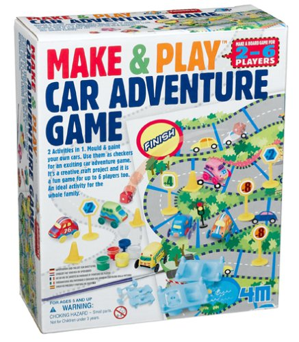 Make and Play Car Game Adventure - 1