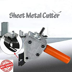 KyStudio Portable Wire Stainless Steel Metal Sheet Cutter Electric Clippers Cutting Scissor
