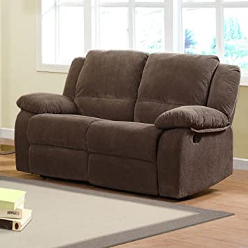 Woodbridge Home Designs Lucienne Reclining Loveseat