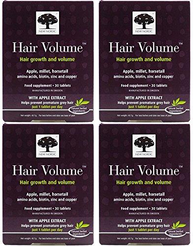 (4 PACK) - New Nordic - Hair Volume   30s   4 PACK BUNDLE