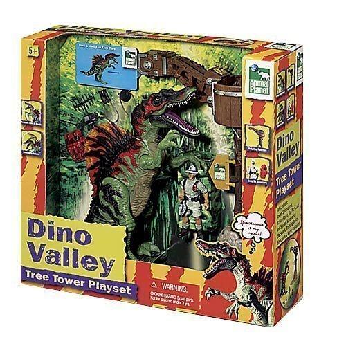 Amazon.com: Animal Planet Dino Valley Tree Tower Playset